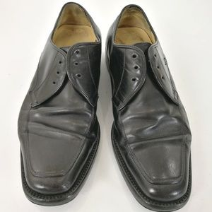 Salvatore Ferragamo Men's 8EE Derby Shoes